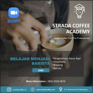 Coffee Academy - Barista Via Zoom Only
