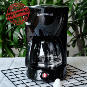 Coffee Maker Black Decker - Black